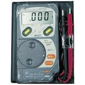 マルチ計測器 MULTI ポケットマルチメーター MCD007
