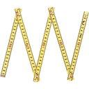 シンワ測定 ファイバー折尺5折 NO78605