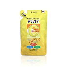 ロート製薬 ROHTO メラノCC 薬用しみ対策 美白化粧水 つめかえ用(170ml)【wtcool】