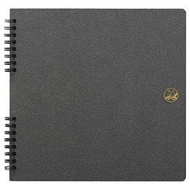 セキセイ SEKISEI ふうあい スクラップブック <コラージュ向き> 黒クラフト台紙10枚(20ページ) FU-2162[FU2162]