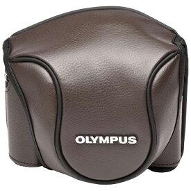 オリンパス OLYMPUS 革カメラケース(ブラウン) CSCH-118 BRW[生産完了品 在庫限り][CSCH118BRW]