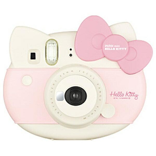 【送料無料】 フジフイルム インスタントカメラ 『チェキ』 instax mini ハローキティ(ピンク)[INSMINIKITCAMERAPK]