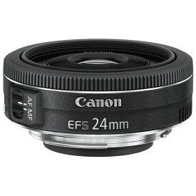 キヤノン CANON カメラレンズ EF-S24mm F2.8 STM APS-C用 ブラック [キヤノンEF /単焦点レンズ][単焦点広角レンズ EF-S2428STM EFS2428STM]