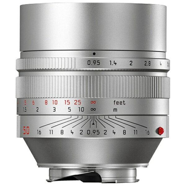 ライカ カメラレンズ ノクティルックス M f0.95/50mm ASPH.【ライカMマウント】(シルバー)[ノクティルックスMF0.9550MMAS]