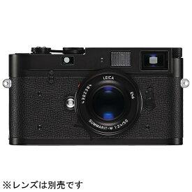 ライカ LEICA M-A Typ 127 レンジファインダーカメラ ブラック [ボディ単体][ライカMATYP127ブラッククローム]
