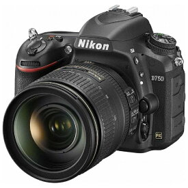 ニコン Nikon D750 デジタル一眼レフカメラ 24-120 VRレンズキット ブラック [ズームレンズ][D750LK24120]
