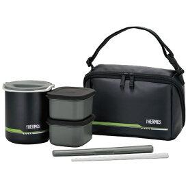 サーモス THERMOS 保温弁当箱(茶碗2.5杯分) DBQ-502-MTBK マットブラック[DBQ502MTBK]