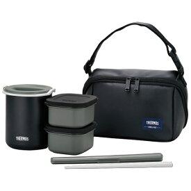 サーモス THERMOS 保温弁当箱(茶碗1.8杯分) DBQ-362-MTBK マットブラック[DBQ362MTBK]