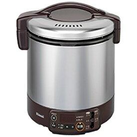 リンナイ Rinnai RR-100VMT-DB ガス炊飯器 こがまる VMTシリーズ ダークブラウン [1升 /都市ガス12・13A][RR100VMTDB]