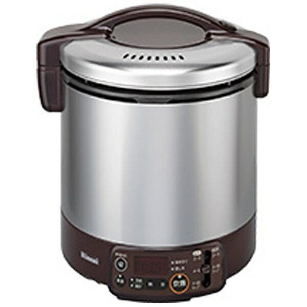 リンナイ Rinnai RR-100VMT-DB ガス炊飯器 こがまる VMTシリーズ ダークブラウン [1升 /プロパンガス][RR100VMTDB]