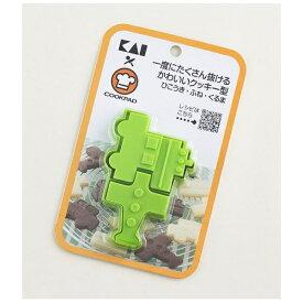 貝印 Kai Corporation 一度にたくさん抜けるかわいいクッキー型 ひこうき・ふね・くるま DL8003