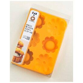 貝印 Kai Corporation まるごと食べられるカボチャカップケーキ型 DL8000