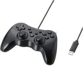 エレコム ELECOM JC-U3712FBK ゲームパッド ブラック [USB /Windows /12ボタン][JCU3712FBK]