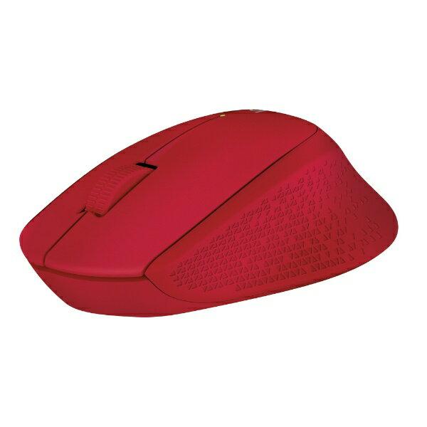 ロジクール ワイヤレス光学式マウス[2.4GHz・USB] Wireless Mouse m280 (3ボタン・レッド) M280RD