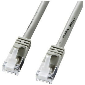 サンワサプライ SANWA SUPPLY KB-STPTS-02 LANケーブル ライトグレー [2m /カテゴリー5e /スタンダード][KBSTPTS02]