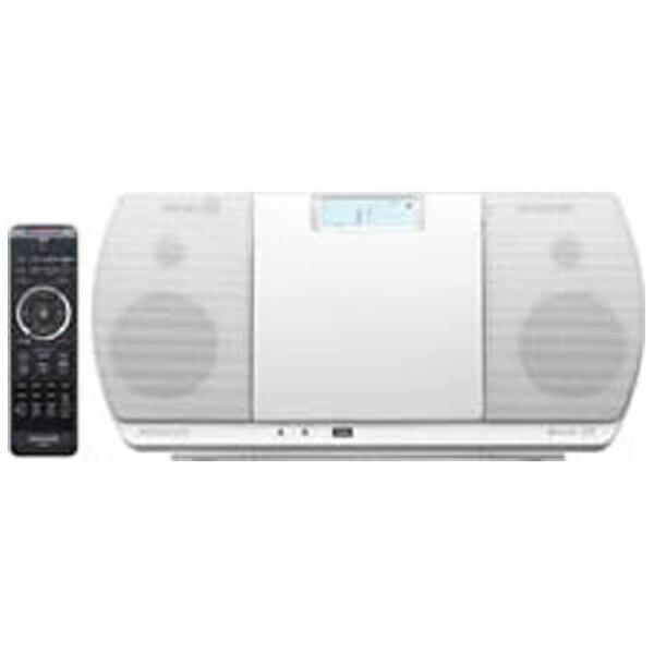 ケンウッド KENWOOD 【ワイドFM対応】Bluetooth対応 ミニコンポ(ホワイト) CR-D3-W[CRD3W]