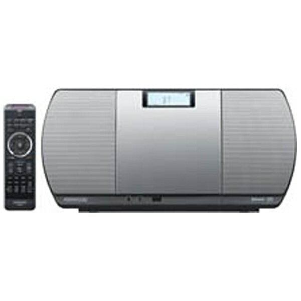 【送料無料】 ケンウッド 【ワイドFM対応】Bluetooth対応 ミニコンポ(シルバー) CR-D3-S[CRD3S]