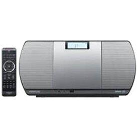 ケンウッド KENWOOD 【ワイドFM対応】Bluetooth対応 ミニコンポ(シルバー) CR-D3-S [ワイドFM対応 /Bluetooth対応][CDコンポ CRD3S]