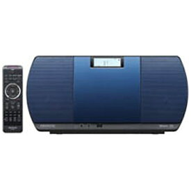 ケンウッド KENWOOD 【ワイドFM対応】Bluetooth対応 ミニコンポ(ブルー) CR-D3-L[CDコンポ CRD3L]