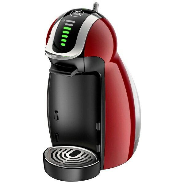 ネスレ日本 Nestle 専用カプセル式コーヒーメーカー 「ドルチェグスト・ジェニオ2・プレミアム」 MD9771-WR ワインレッド[MD9771WR]