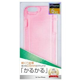 オズマ OSMA iPhone 6用 TPUジャケット薄型 ピンク ctp-ip06p[CTPIP06P]
