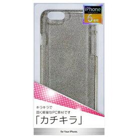 オズマ OSMA iPhone 6用 PCラメ入ジャケット ブラック cpcl-ip06b[CPCLIP06B]