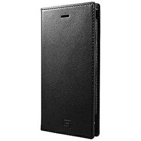 坂本ラヂヲ iPhone6用 手帳型レザーケース Full Leather Case LC634 ブラック GRAMAS LC634BK