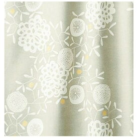 スミノエ SUMINOE ドレープカーテン ハナカザリ(100×200cm/グレー)【日本製】[V1252100X200]