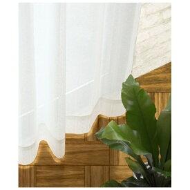 スミノエ SUMINOE レースカーテン ロワール(100×133cm/ナチュラルホワイト)【日本製】[V1811100X133]
