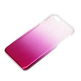 PGA iPhone 6用 ハードケース グラデ ピンクラメ PG-I6PC05PK[PGI6PC05PK]