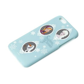 PGA iPhone 6用 ラバーコートハードケース ディズニー・アナと雪の女王 PG-DCS879FRZ[PGDCS879FRZ]