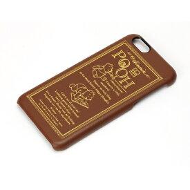 PGA iPhone 6用 レザーハードケース ディズニー・くまのプーさん PG-DCS888POO[PGDCS888POO]