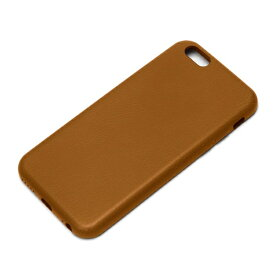PGA iPhone 6用 PUレザーケース ブラウン PG-I6PU04BR[PGI6PU04BR]