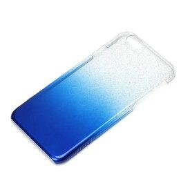 PGA iPhone 6用 ハードケース グラデ ブルーラメ PG-I6PC06BL[PGI6PC06BL]