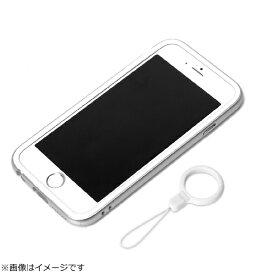 PGA iPhone 6用 ハイブリッドバンパー リングストラップ付 シルバー PG-I6BP06SV[PGI6BP06SV]