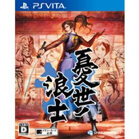 スパイクチュンソフト Spike Chunsoft 憂世ノ浪士【PS Vitaゲームソフト】