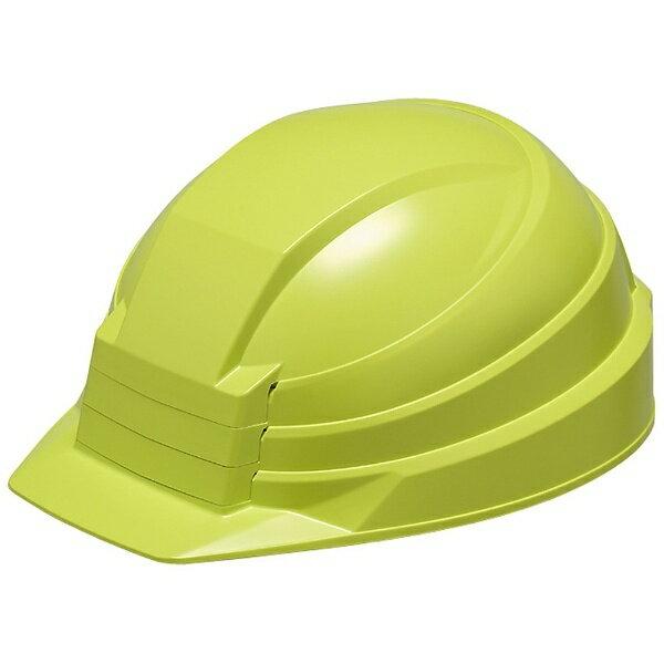 DICプラスチック 折りたたみ防災用ヘルメット 「IZANO」 AA13型HA4-K13式(グリーン)