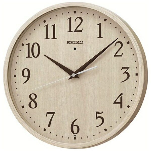 セイコー SEIKO 電波掛け時計 「ナチュラルスタイル」 KX399A