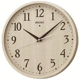 セイコー SEIKO 掛け時計 【ナチュラルスタイル】 木目模様 KX399A [電波自動受信機能有]