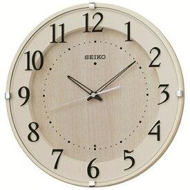 セイコー SEIKO 掛け時計 【ナチュラルスタイル】 アイボリー KX397A [電波自動受信機能有][KX397A]