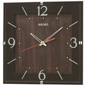 セイコー SEIKO 掛け時計 【ナチュラルスタイル】 濃茶 KX398B [電波自動受信機能有]