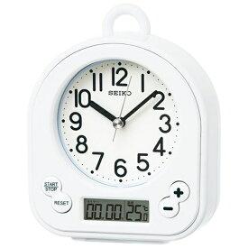 セイコー SEIKO 置き時計 白 BZ358W