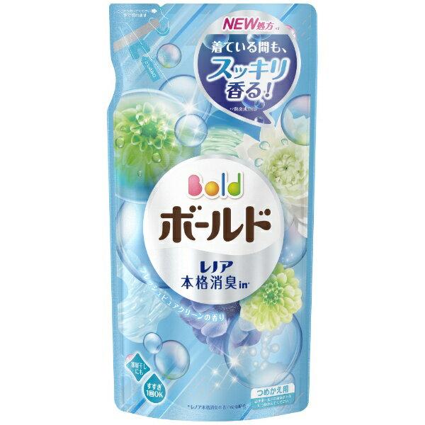 P&G ピーアンドジー Bold(ボールド)ジェル アクアピュアクリーンの香り つめかえ用〔衣類洗剤〕