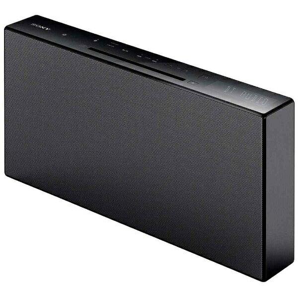 ソニー SONY 【ワイドFM対応】Bluetooth対応 ミニコンポ(ブラック) CMT-X3CD BC[CMTX3CDBC]