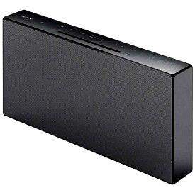 ソニー SONY 【ワイドFM対応】Bluetooth対応 ミニコンポ(ブラック) CMT-X3CD BC[CDコンポ CMTX3CDBC]