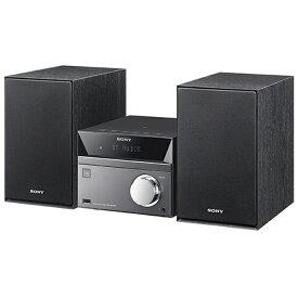 ソニー SONY 【ワイドFM対応】Bluetooth対応 ミニコンポ(シルバー) CMT-SBT40 SC[CDコンポ CMTSBT40SC]