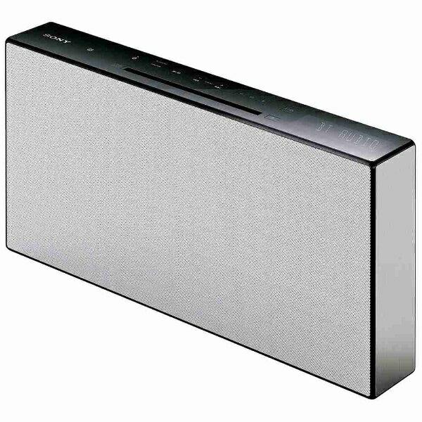 【送料無料】 ソニー SONY 【ワイドFM対応】Bluetooth対応 ミニコンポ(ホワイト) CMT-X3CD WC[CMTX3CDWC]