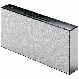 ソニー SONY 【ワイドFM対応】Bluetooth対応 ミニコンポ(ホワイト) CMT-X3CD WC[CDコンポ CMTX3CDWC]