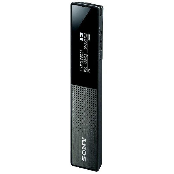 【送料無料】 ソニー SONY リニアPCMレコーダー【16GB】(ブラック) ICD-TX650BC[ICDTX650BC]