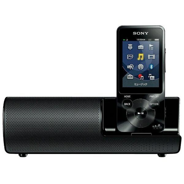【送料無料】 ソニー デジタルオーディオプレーヤー WALKMAN S10シリーズ(ブラック/8GB) NW-S14K BM 【ワイドFM対応】[NWS14KBM]